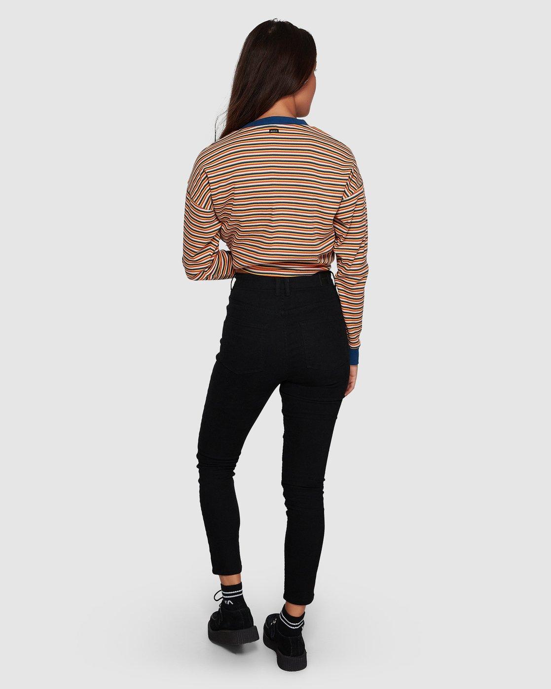 3 Solar Pants - Black Black  R283229 RVCA