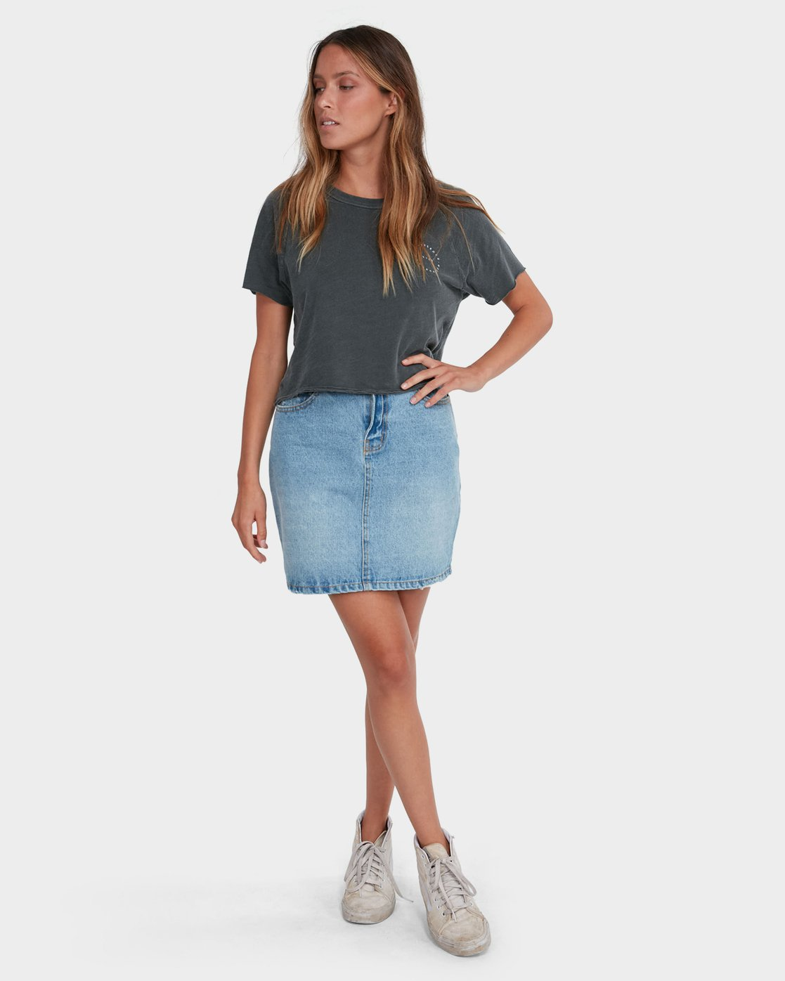 5 Jolt Skirt Blue R283834 RVCA