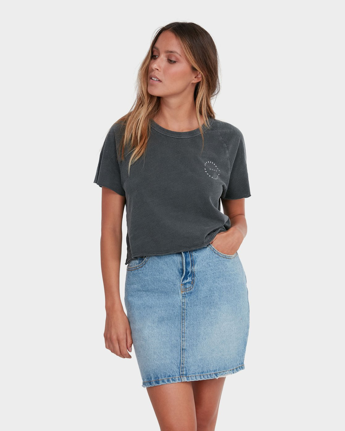 0 Jolt Skirt Blue R283834 RVCA