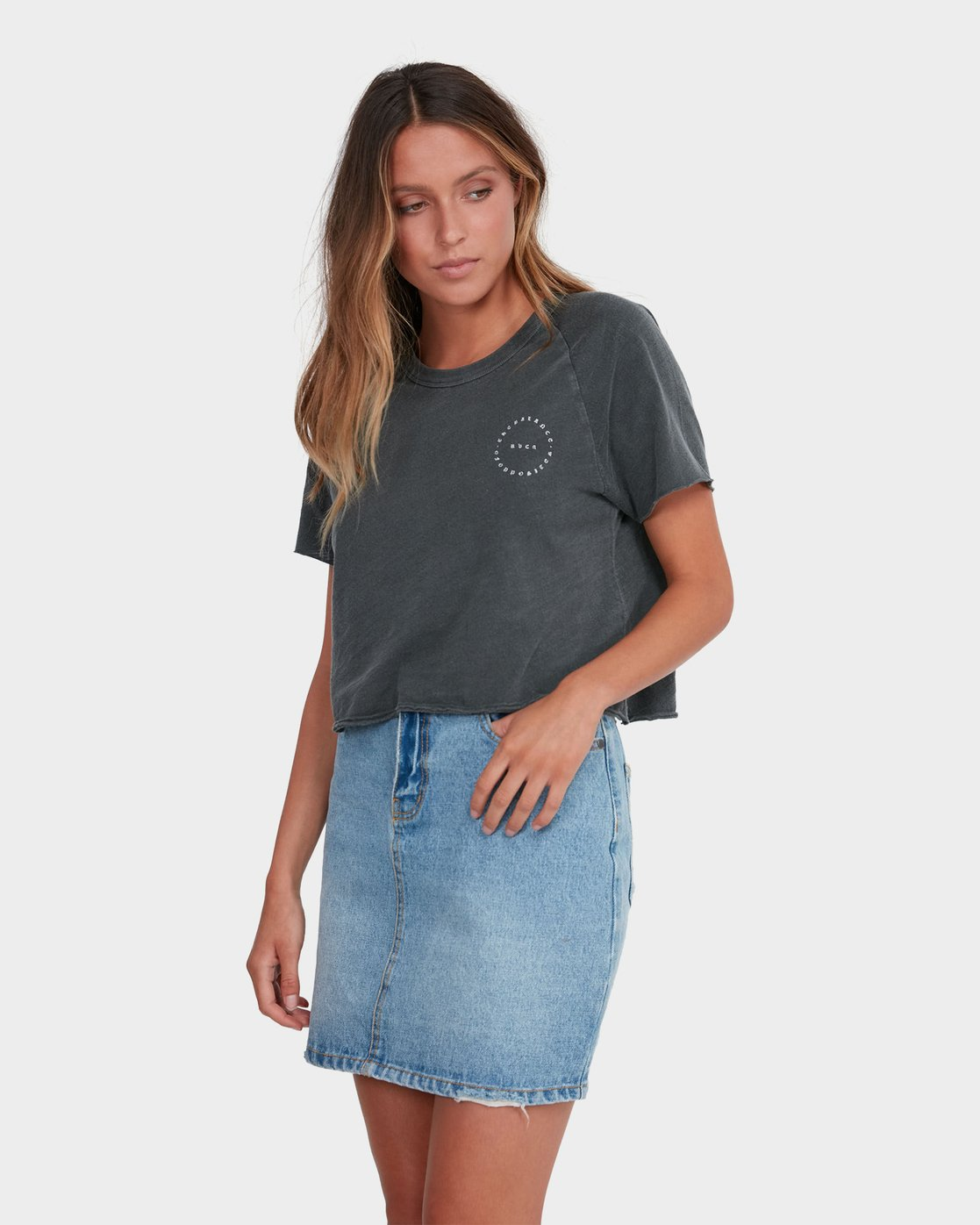 1 Jolt Skirt Blue R283834 RVCA