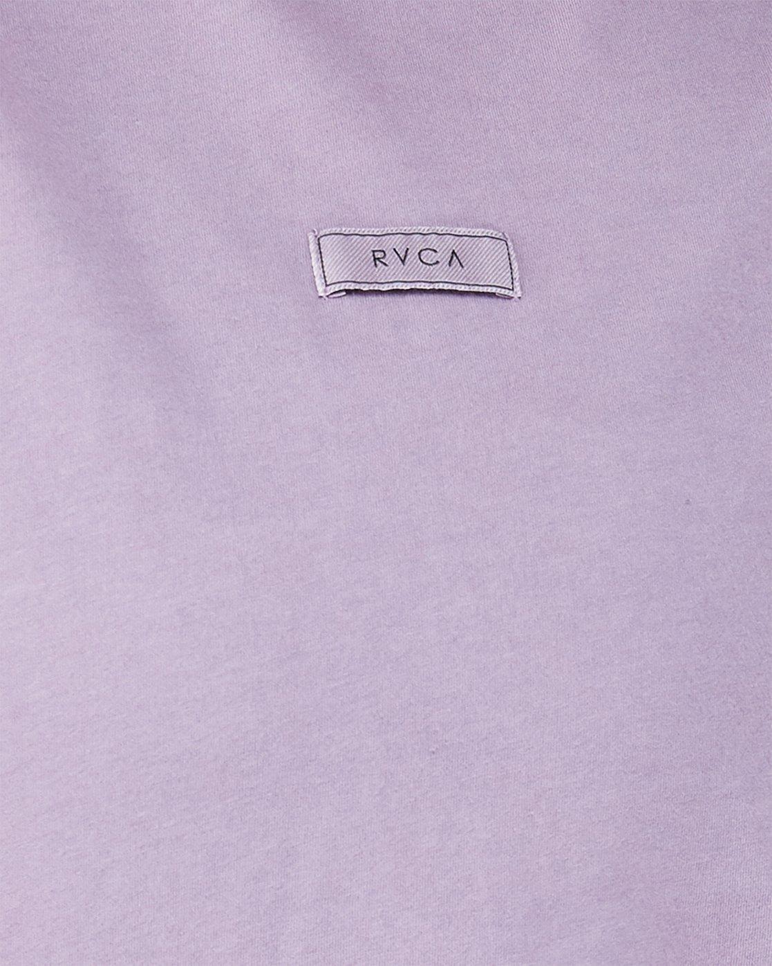 4 Focus Patch Short Sleeve T-Shirt Purple R291682 RVCA