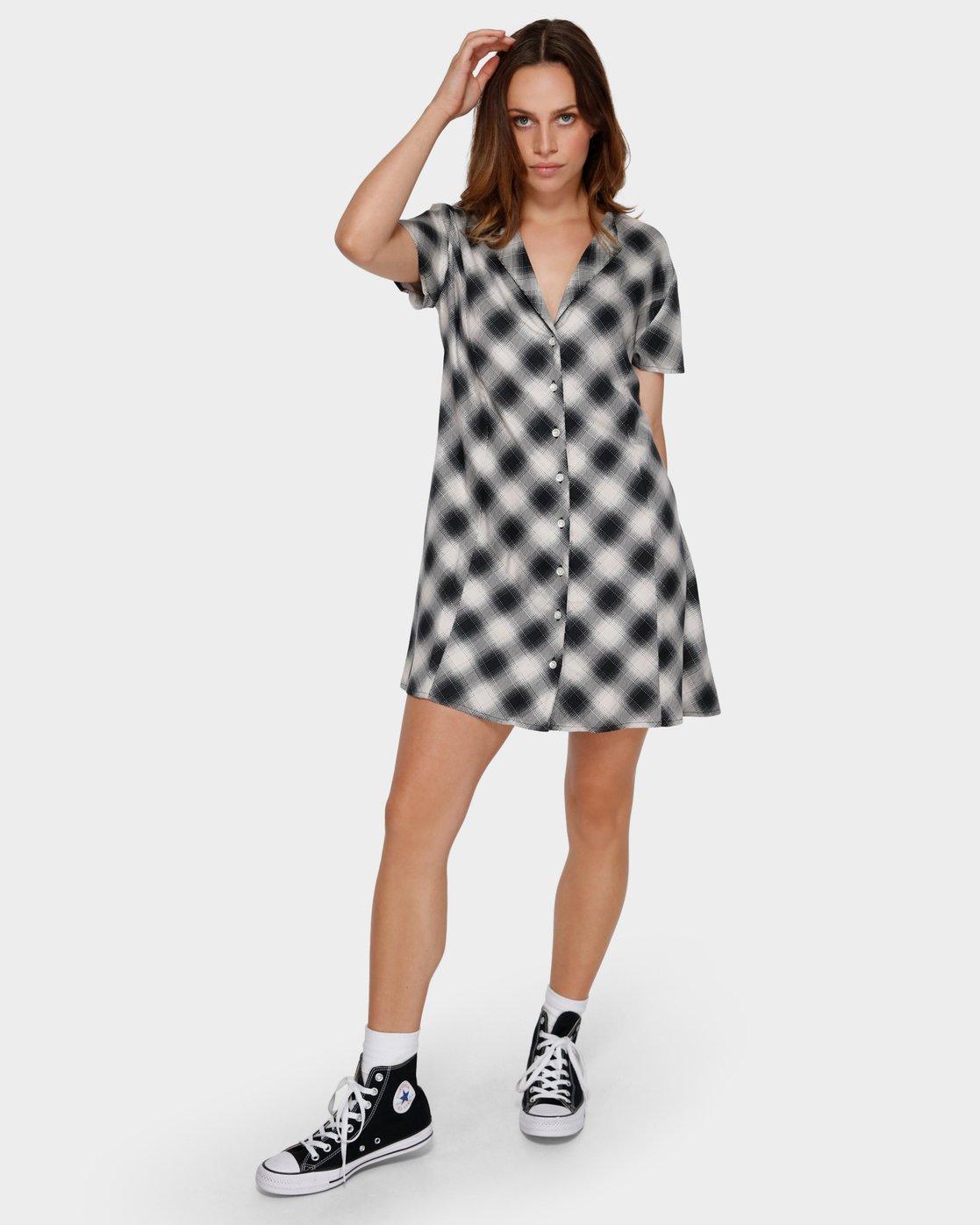 4 Unbiased Dress Black R291759 RVCA
