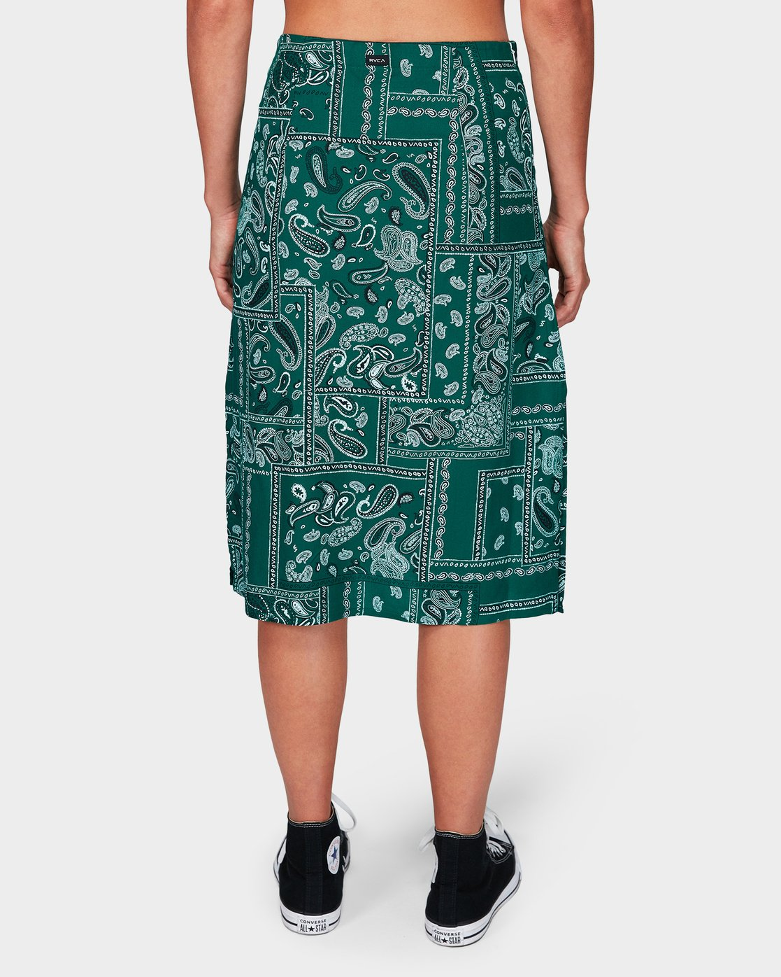 4 Farren Skirt Green R292831 RVCA