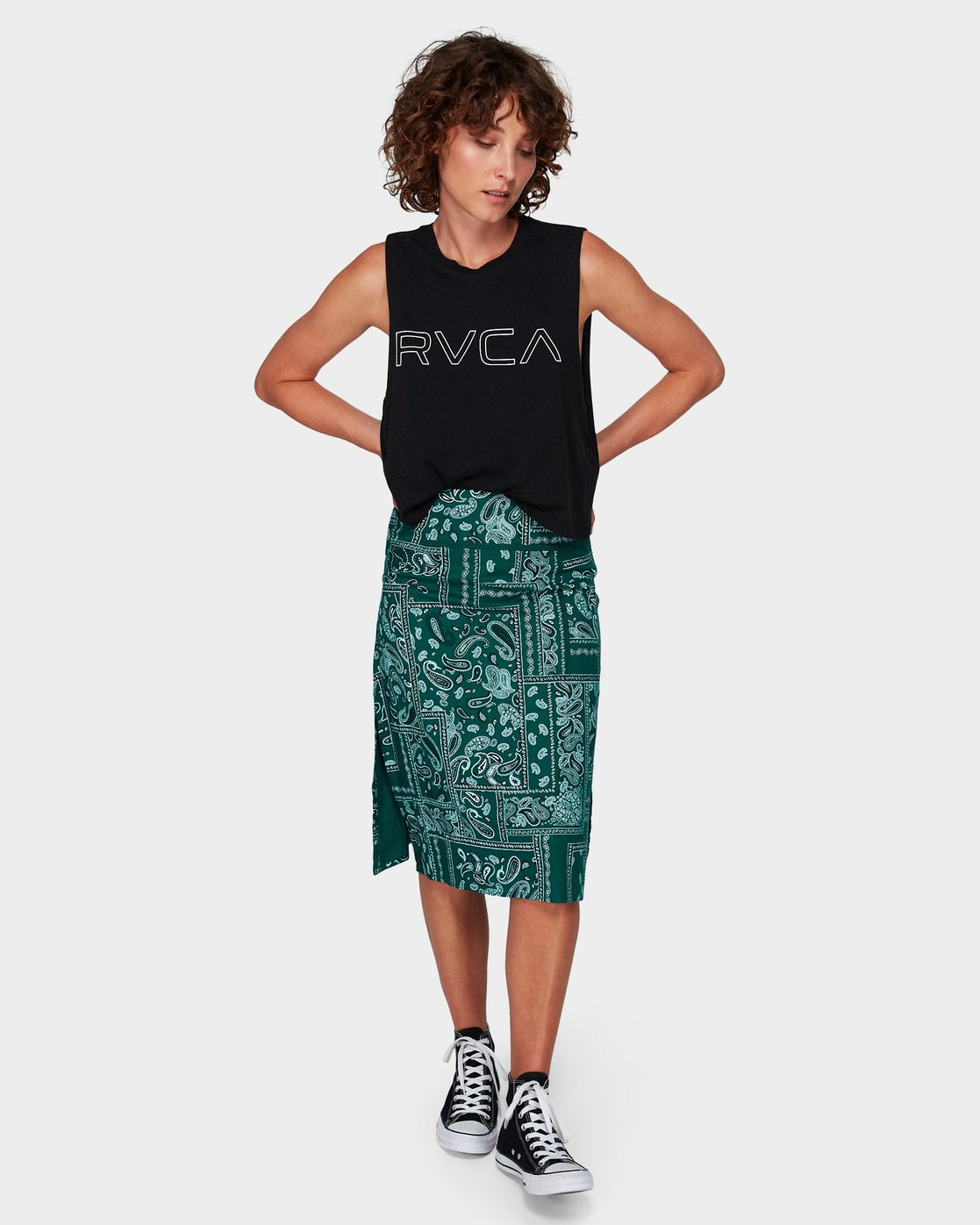 0 Farren Skirt Green R292831 RVCA