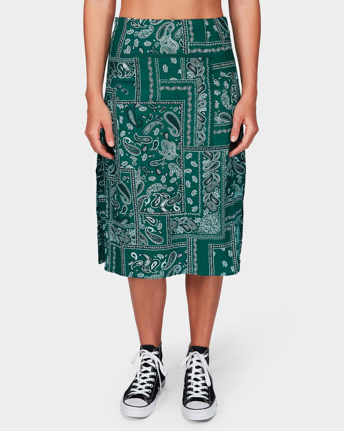 3 Farren Skirt Green R292831 RVCA