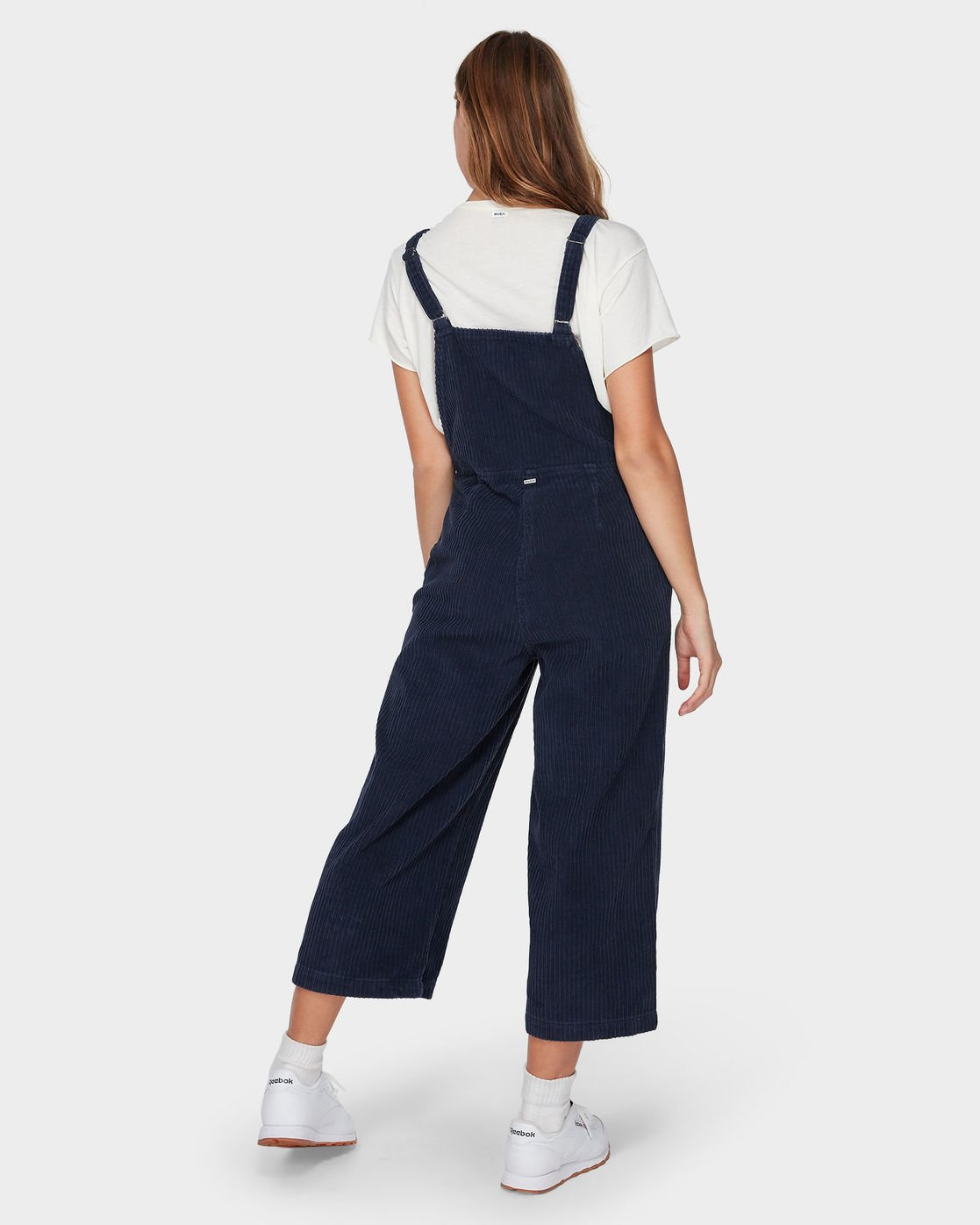 3 Crushed Plush Overall Blue R293756 RVCA