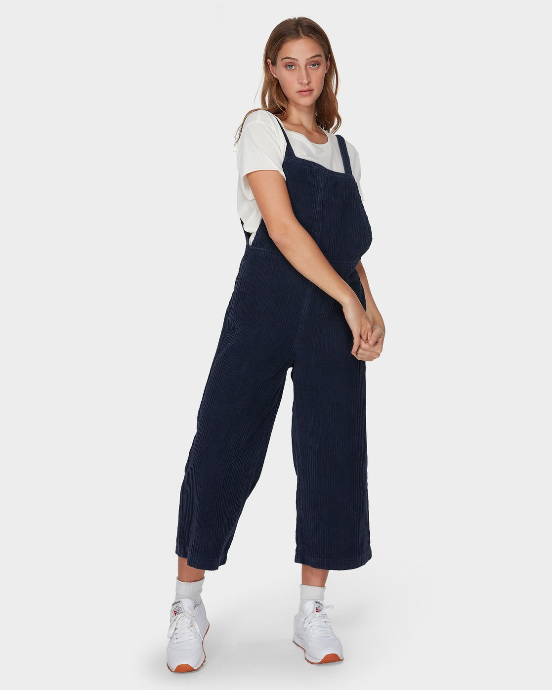 1 Crushed Plush Overall Blue R293756 RVCA