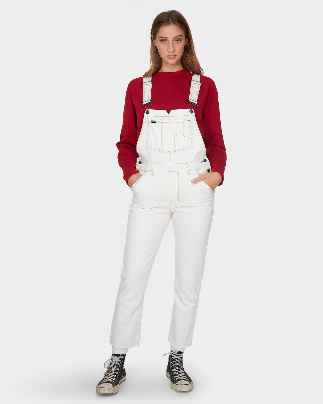 0 Rewerked Overall White R293765 RVCA