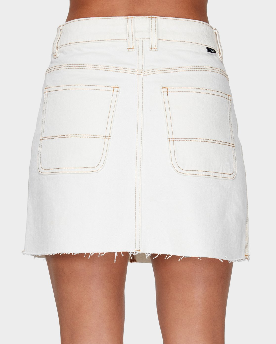 4 Rowdy Rewerked Skirt White R293831 RVCA