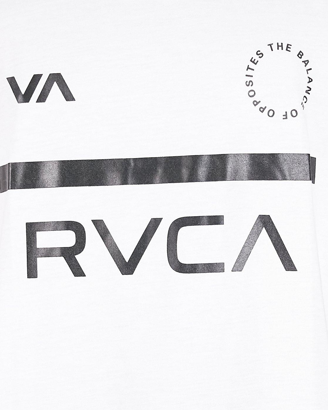 5 Mid Bar Tank Top White R305003 RVCA