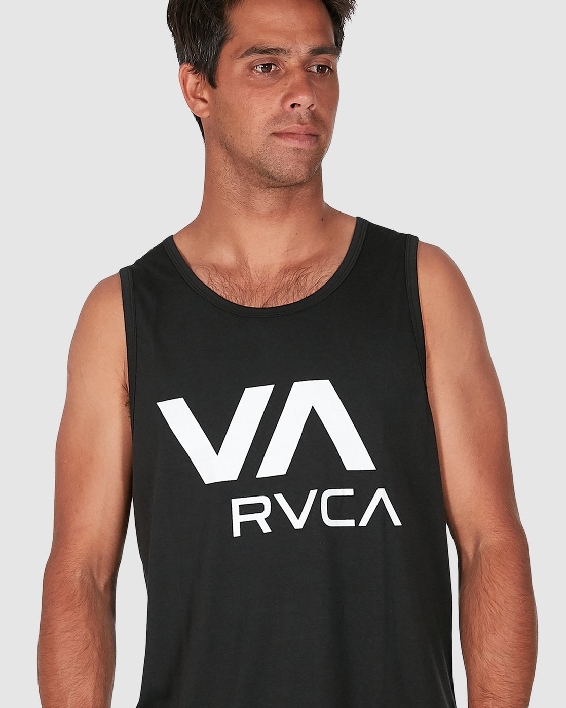 4 Va Rvca Tank Top Black R305007 RVCA