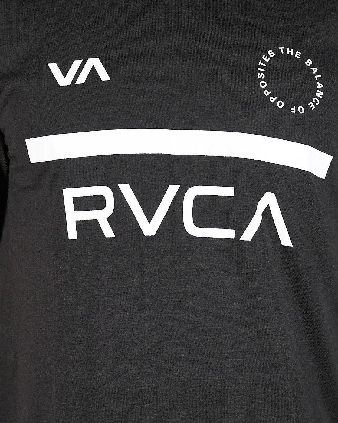 5 Mid Bar Short Sleeve Tee Black R305044 RVCA