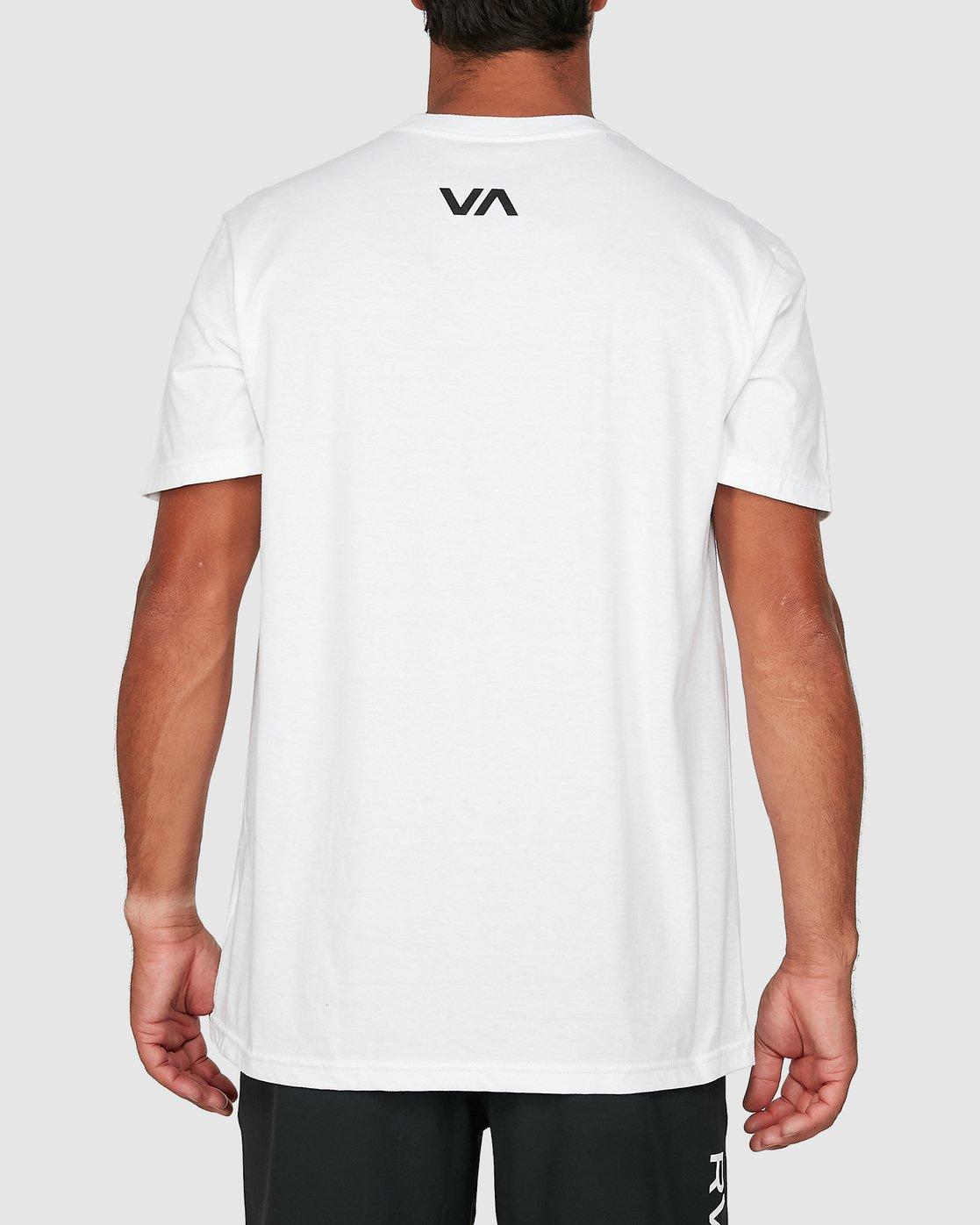 2 Balance Arc Short Sleeve Tee White R305046 RVCA