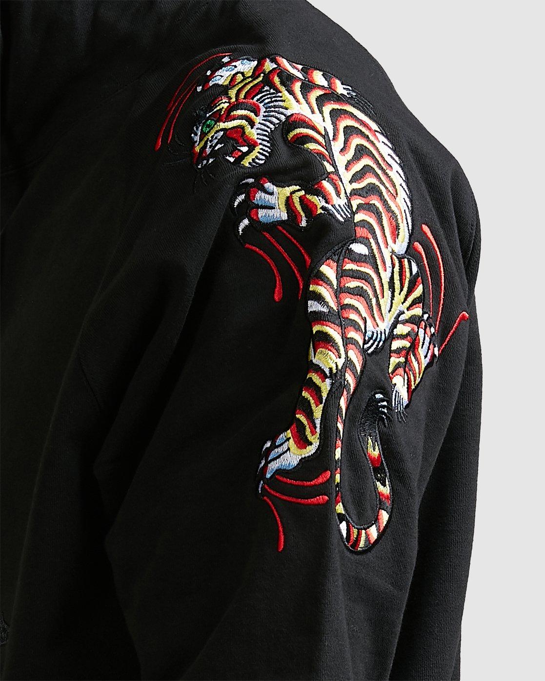 5 Tiger Krak Fleece Black R305157 RVCA