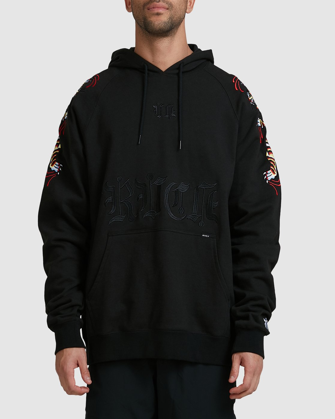 0 Tiger Krak Fleece Black R305157 RVCA