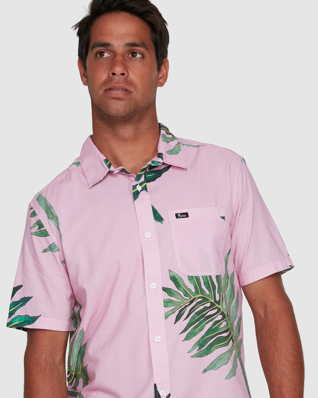 4 ROZICH SHORT SLEEVE TOP Pink R305181 RVCA