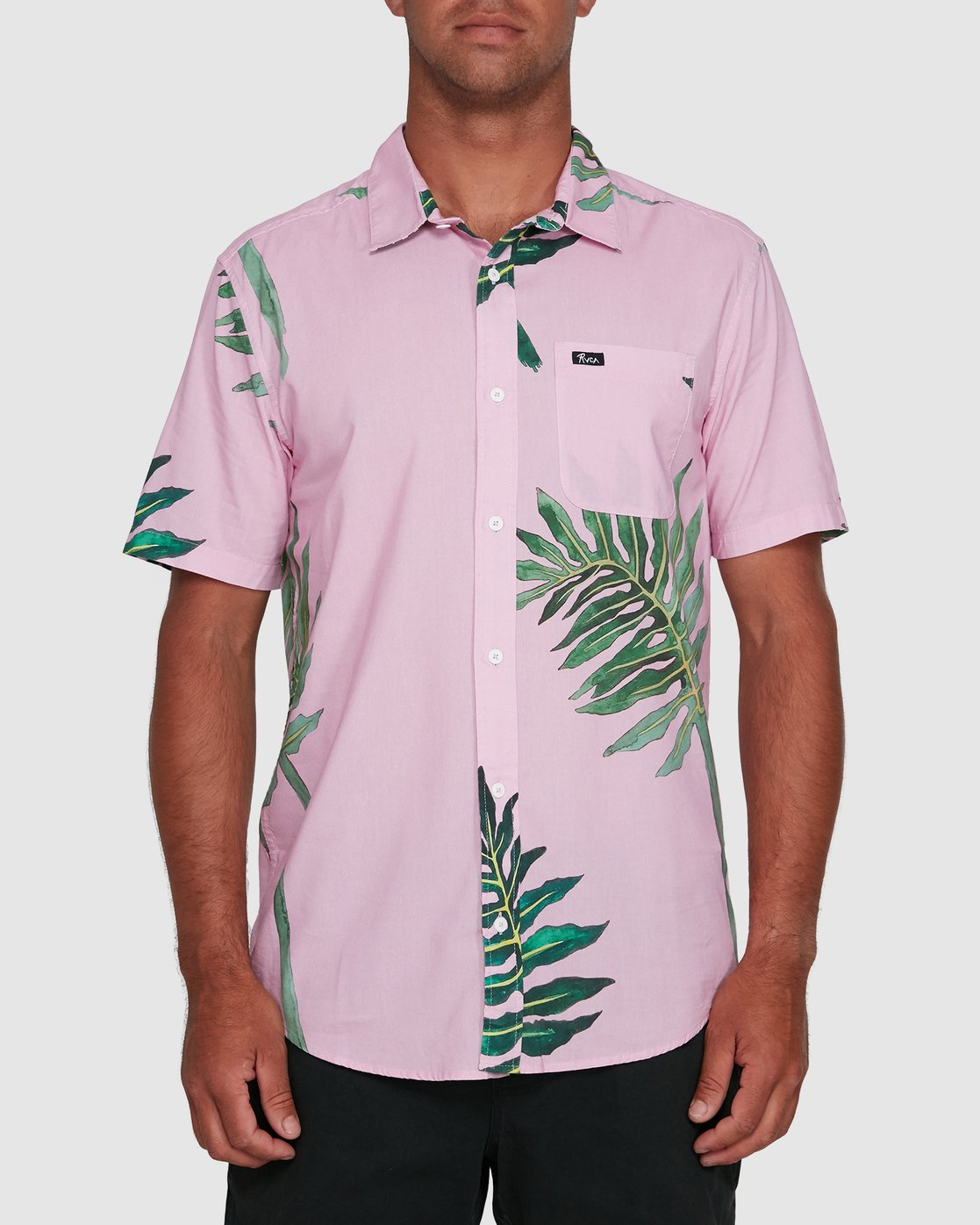 1 ROZICH SHORT SLEEVE TOP Pink R305181 RVCA