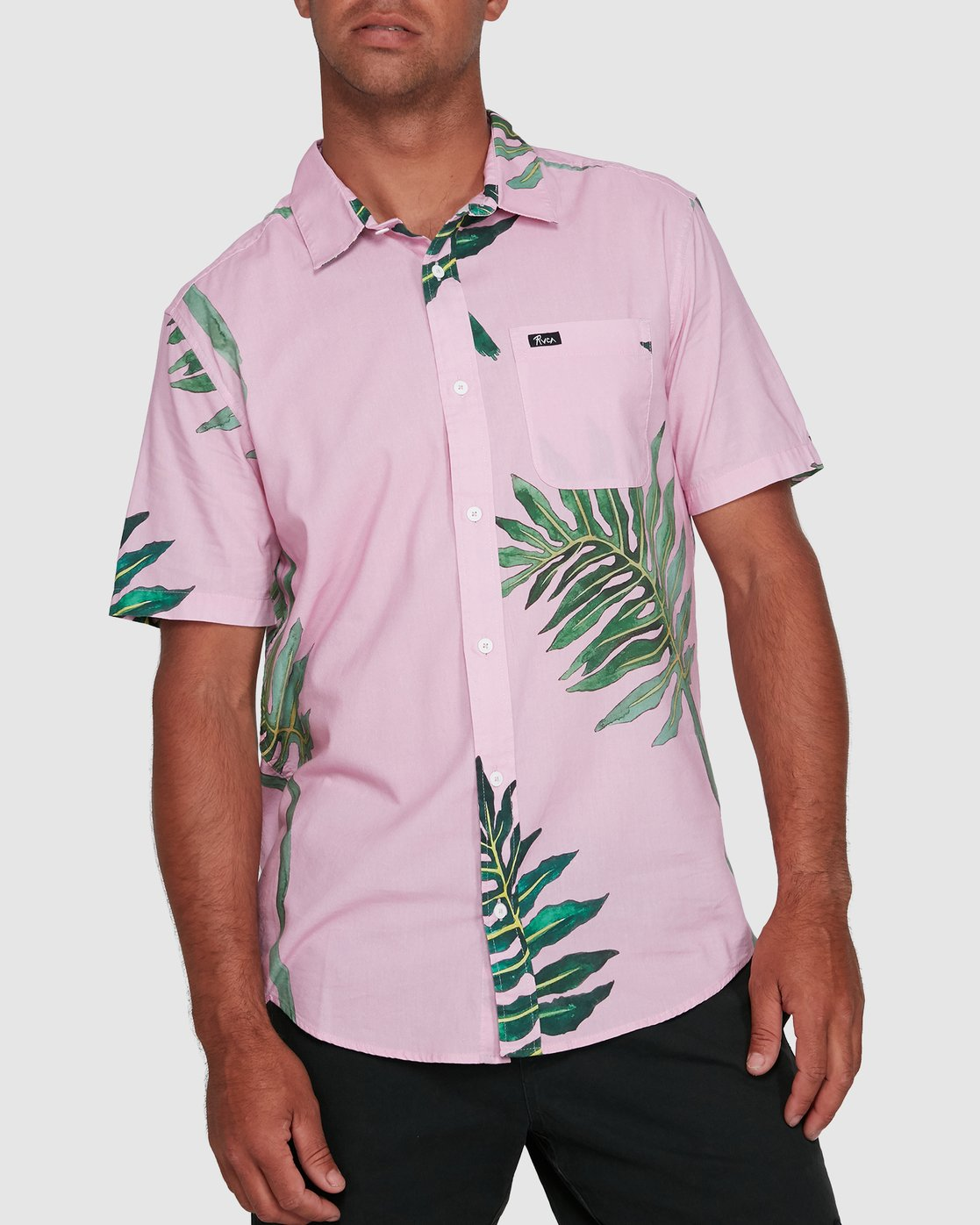 0 ROZICH SHORT SLEEVE TOP Pink R305181 RVCA