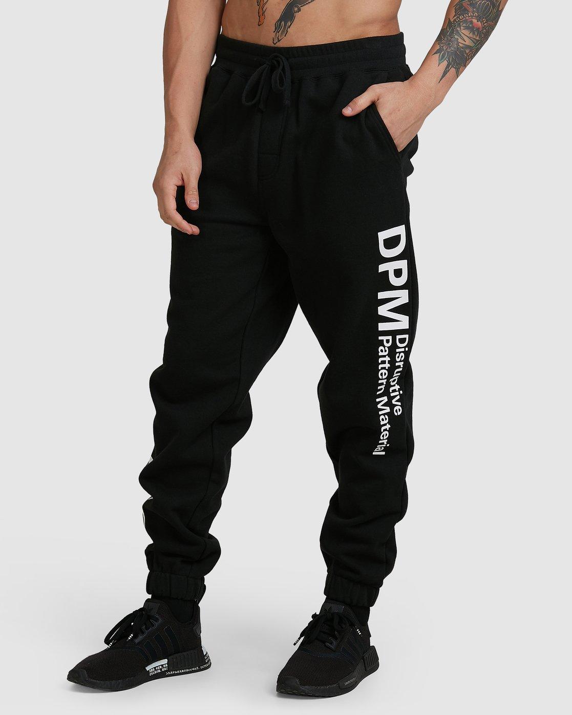 0 Dpm Fleece Pant Black R305284 RVCA
