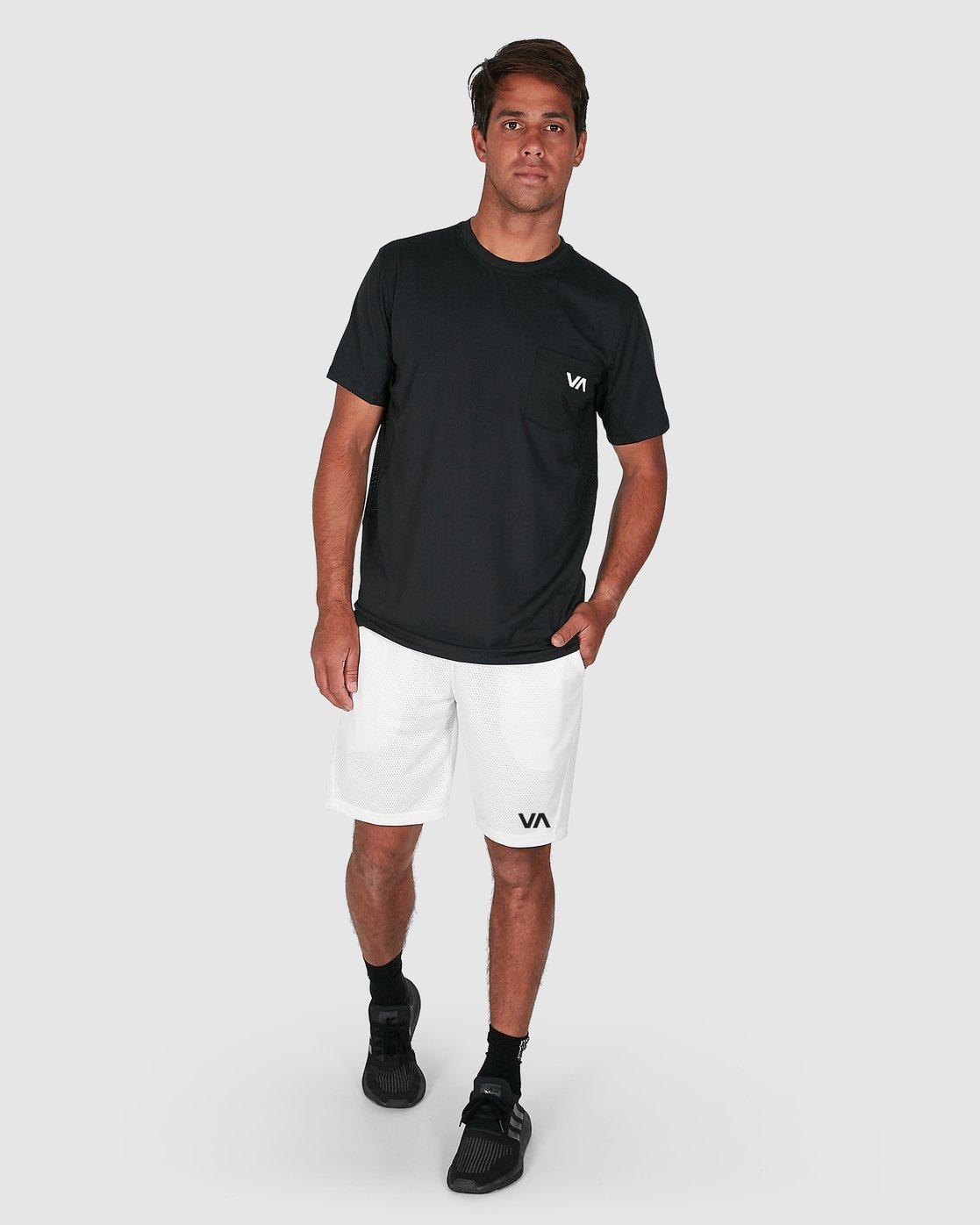 4 Va Mesh Short White R305311 RVCA
