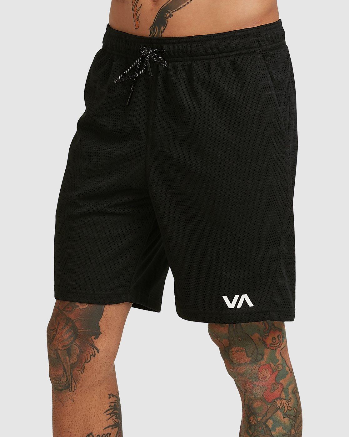 0 VA MESH SHORTS Black R305311 RVCA