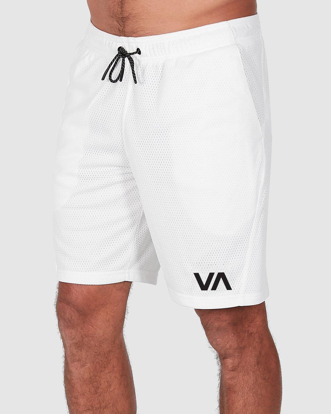 1 Va Mesh Short White R305311 RVCA