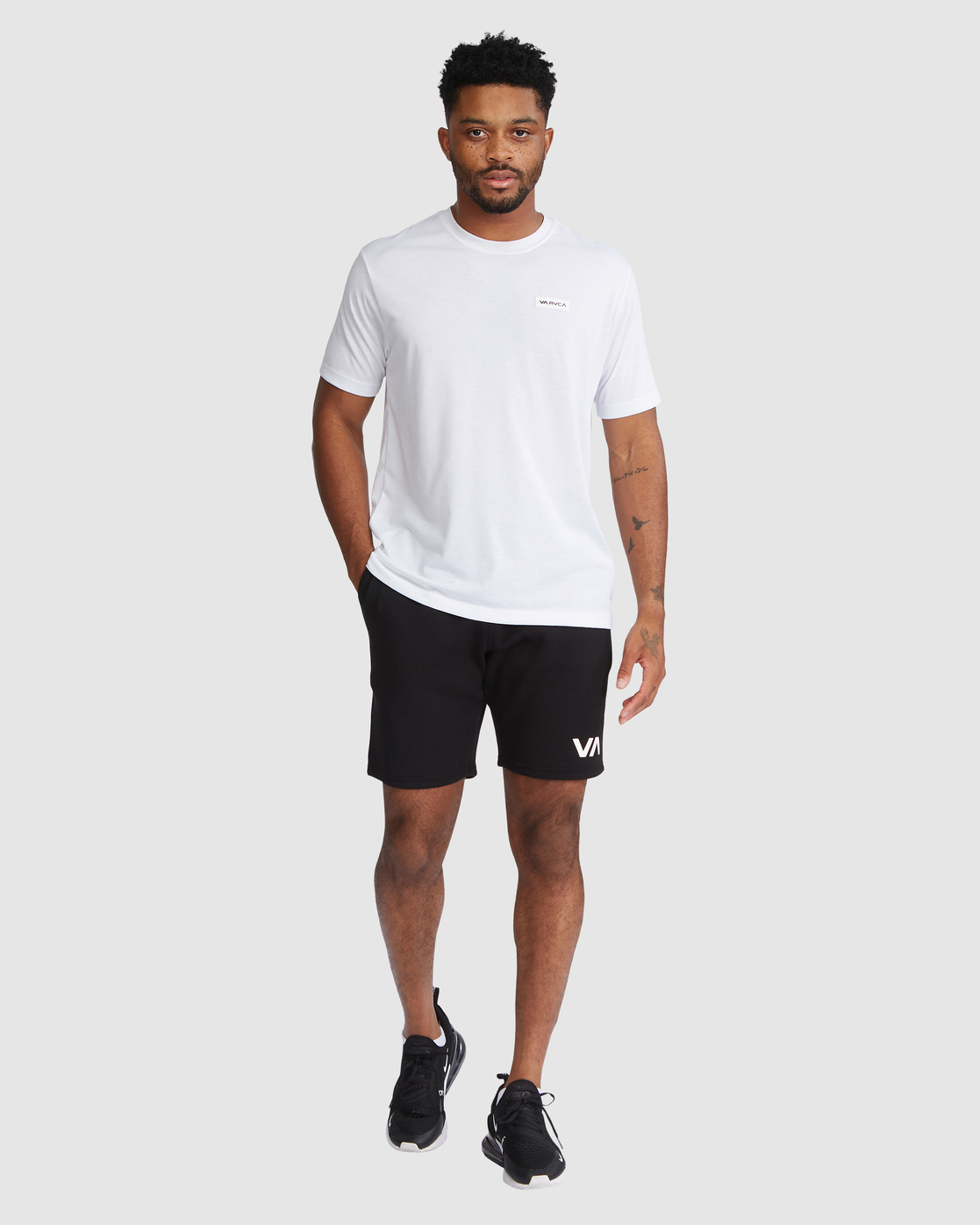 4 Sport Short IV Black R305314 RVCA