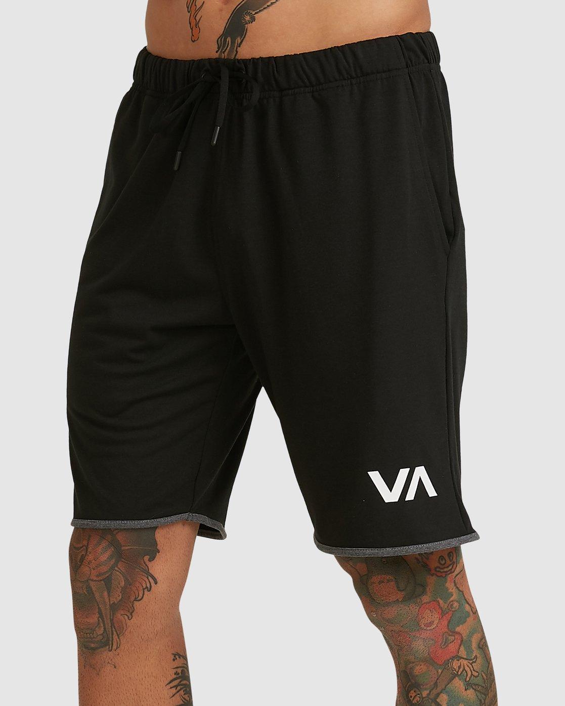 6 Sport Short IV Black R305314 RVCA