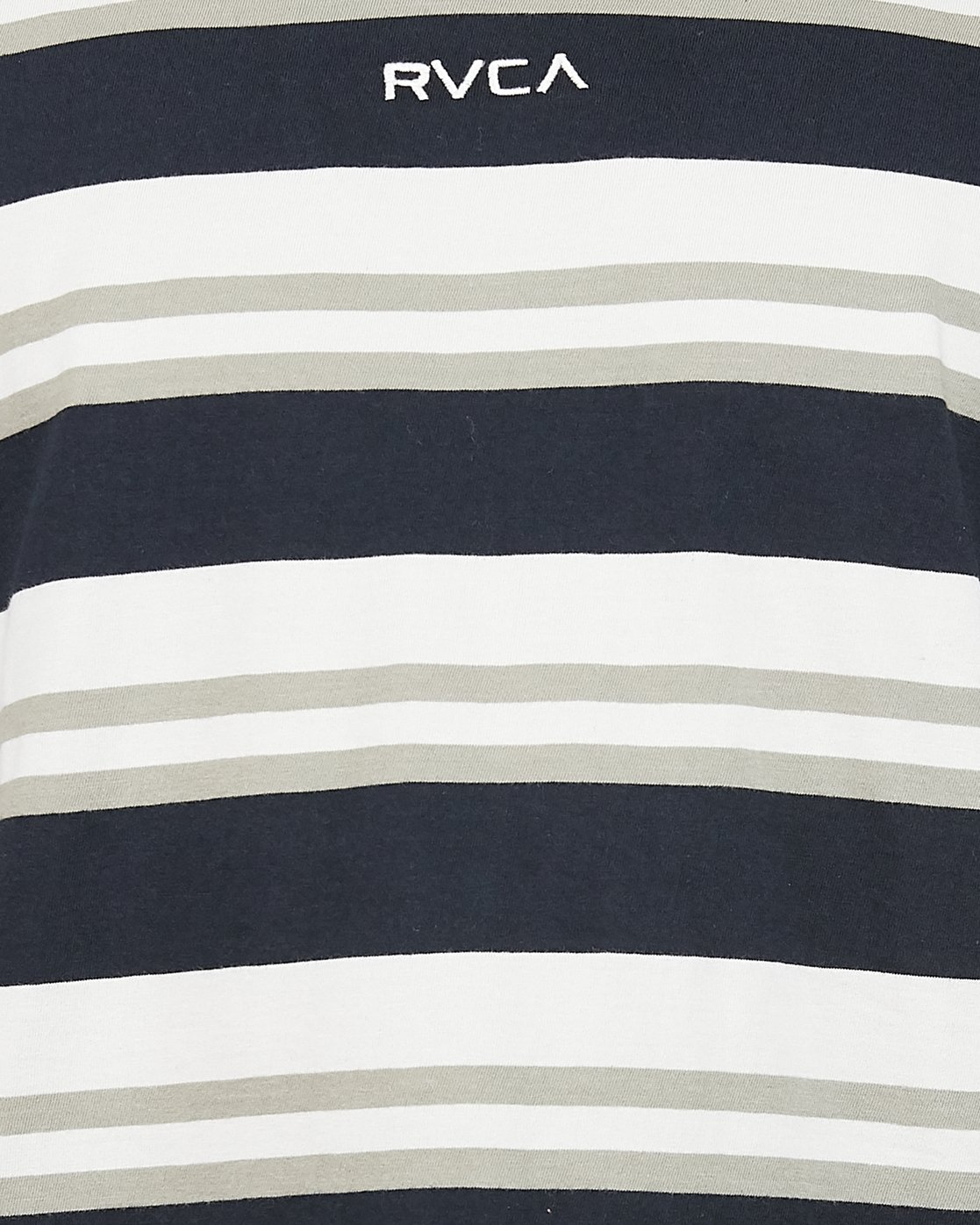 4 Curtis Stripe II Short Sleeve Tee Black R306042 RVCA