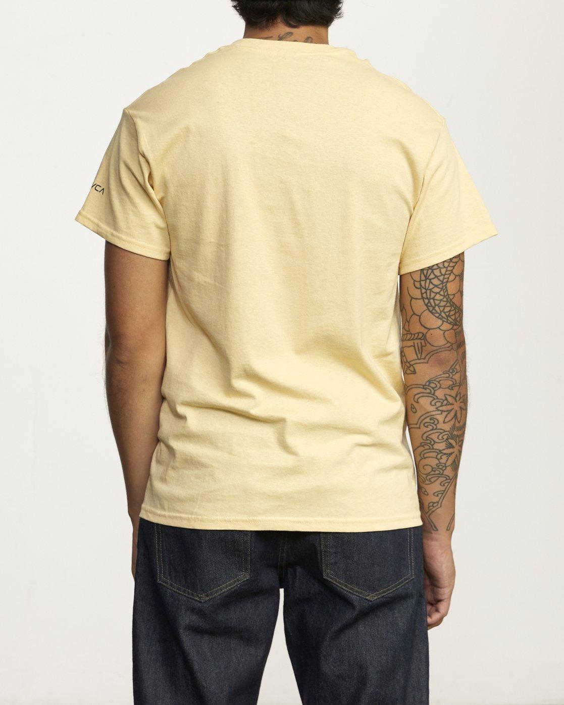 2 Destroy Racism T Shirt White R306061 RVCA