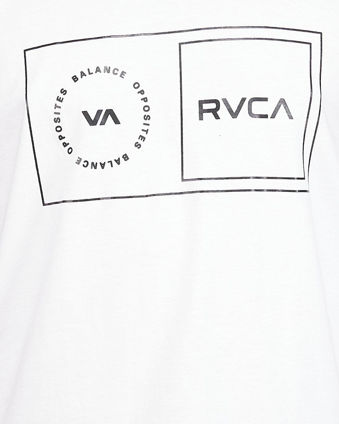 5 Sport Balance Box Tank White R307003 RVCA