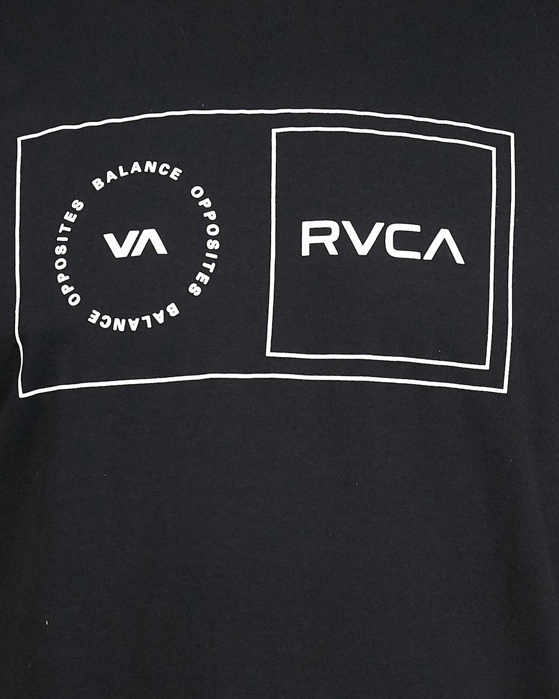 5 Sport Balance Box Short Sleeve Tee Black R307049 RVCA