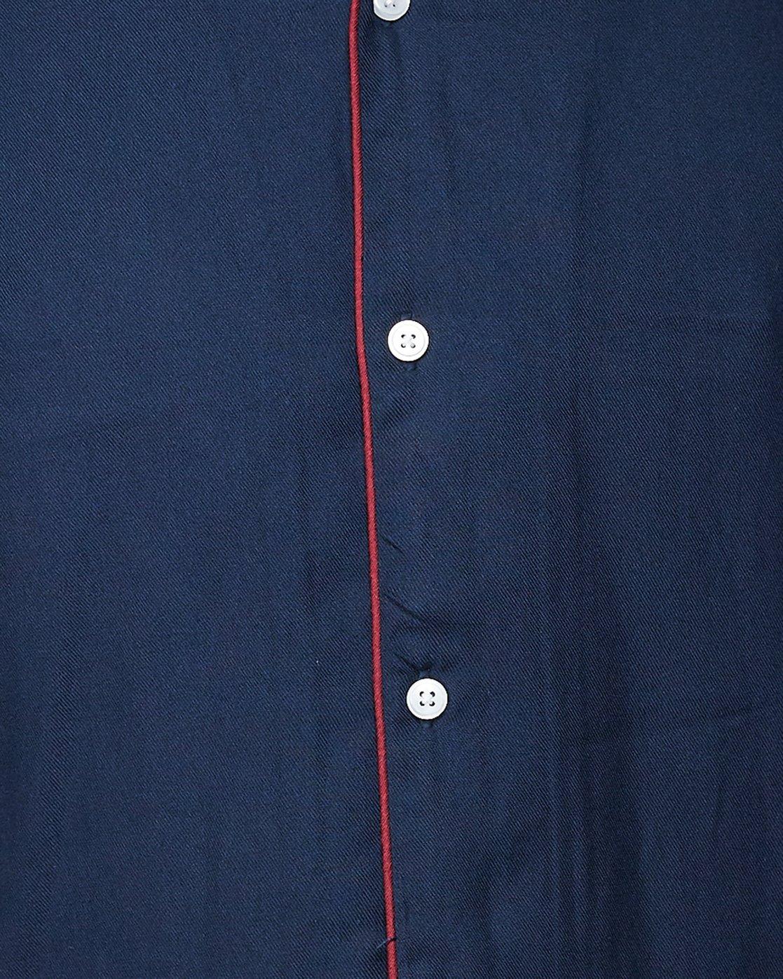 4 Hi-Grade Camp Shirt Blue R307195 RVCA