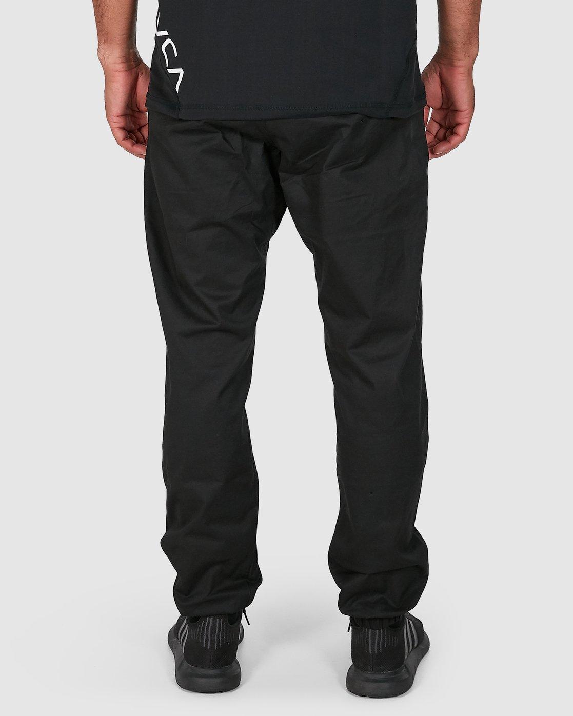 5 SPECTRUM CUFFED PANTS Black R307276 RVCA