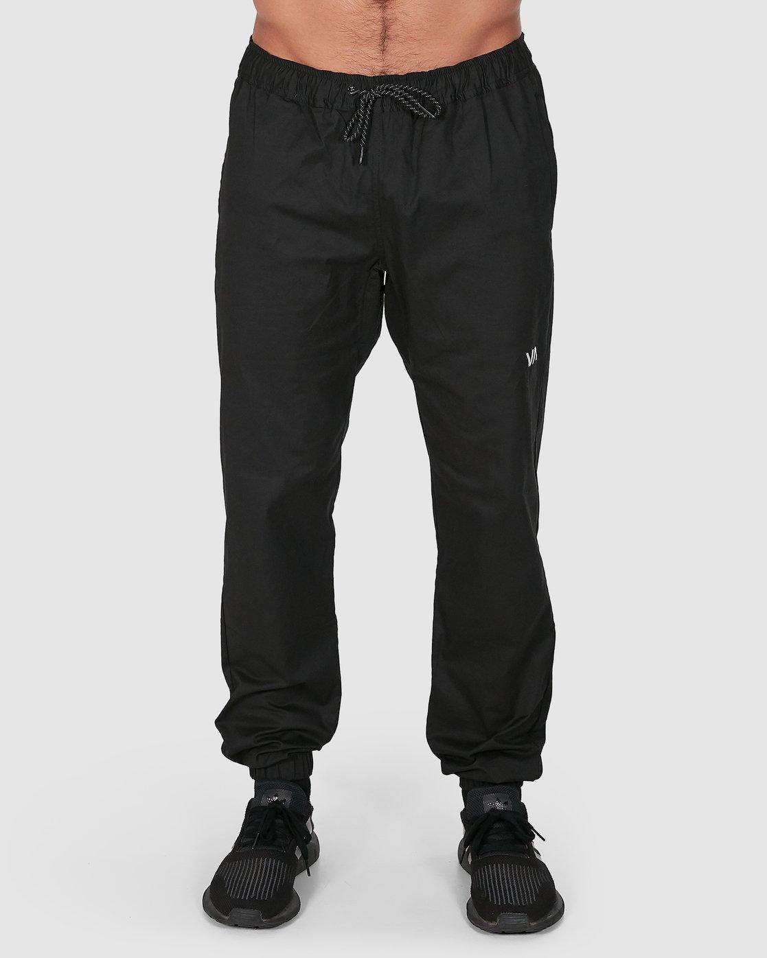 1 SPECTRUM CUFFED PANTS Black R307276 RVCA