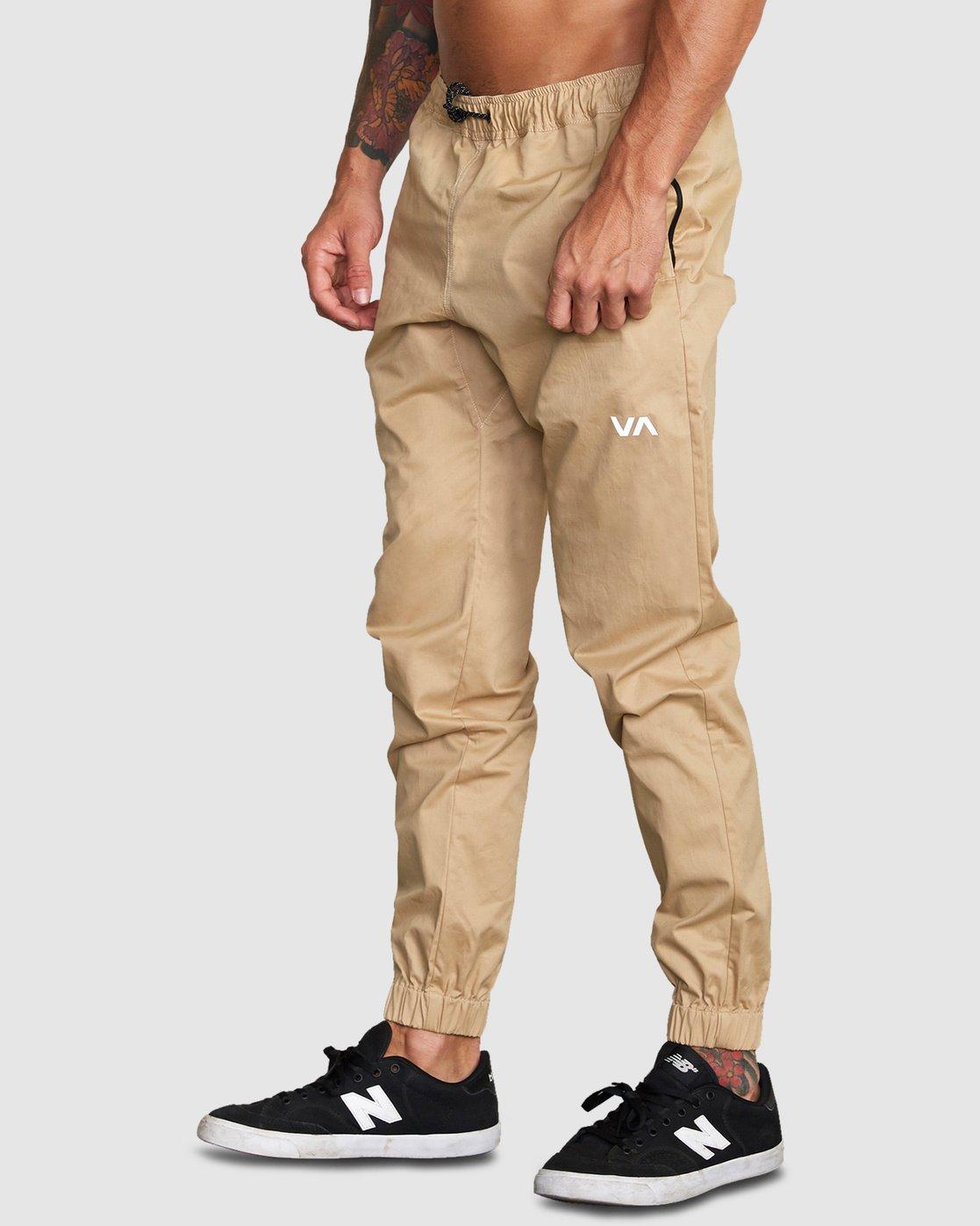 0 SPECTRUM CUFFED PANTS Yellow R307276 RVCA