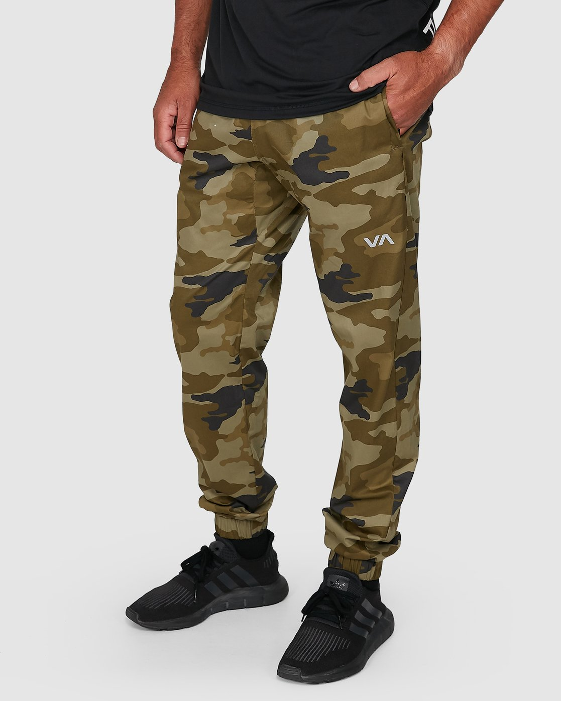 6 SPECTRUM CUFFED PANTS Green R307276 RVCA