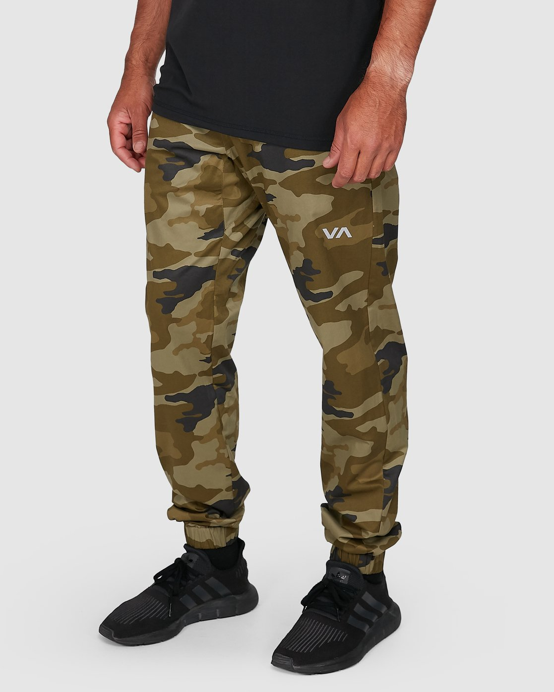 3 SPECTRUM CUFFED PANTS Green R307276 RVCA