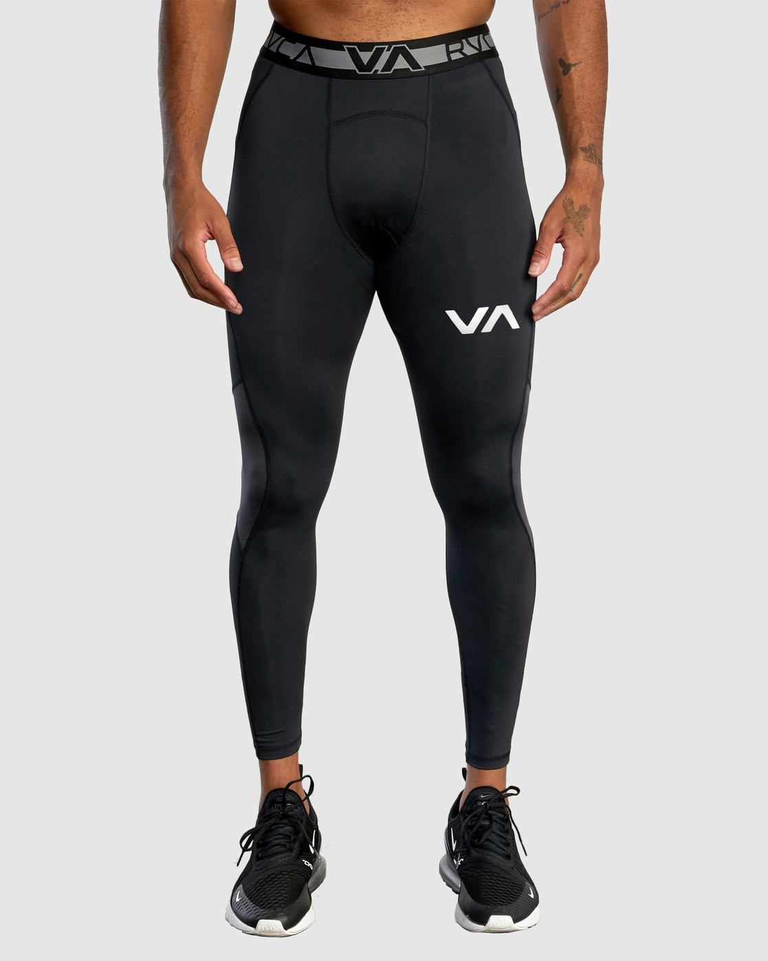 1 Compression Pant Black R307278 RVCA