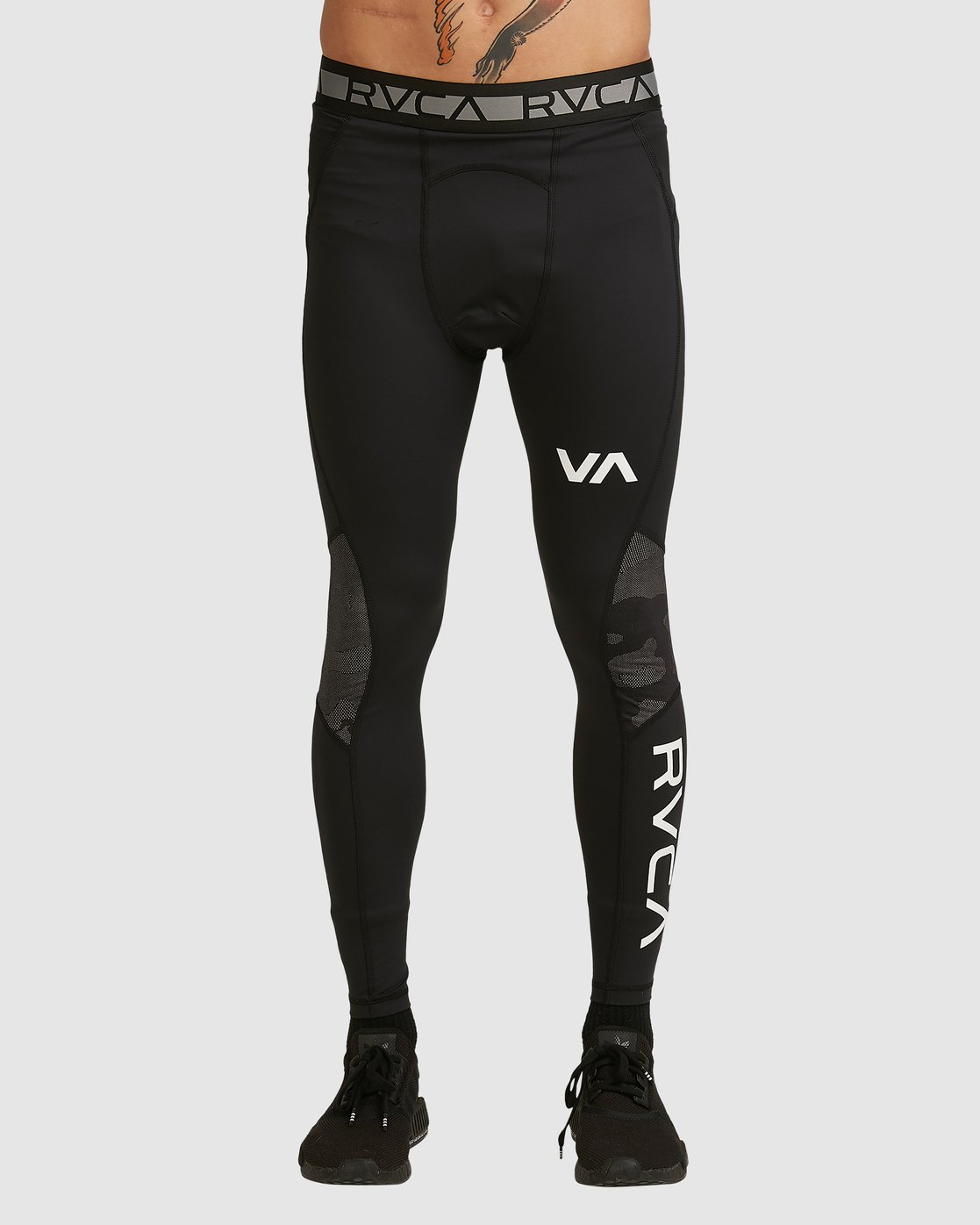 2 Compression Pant Black R307278 RVCA