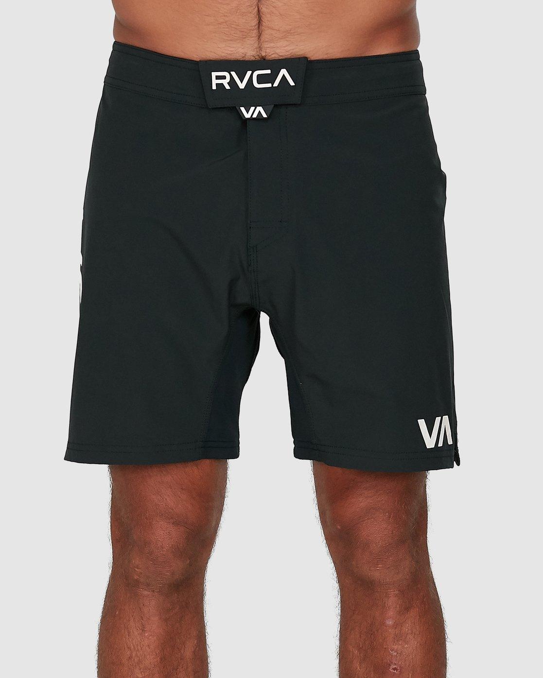 1 FIGHT SCRAPPER SHORTS Black R307311 RVCA