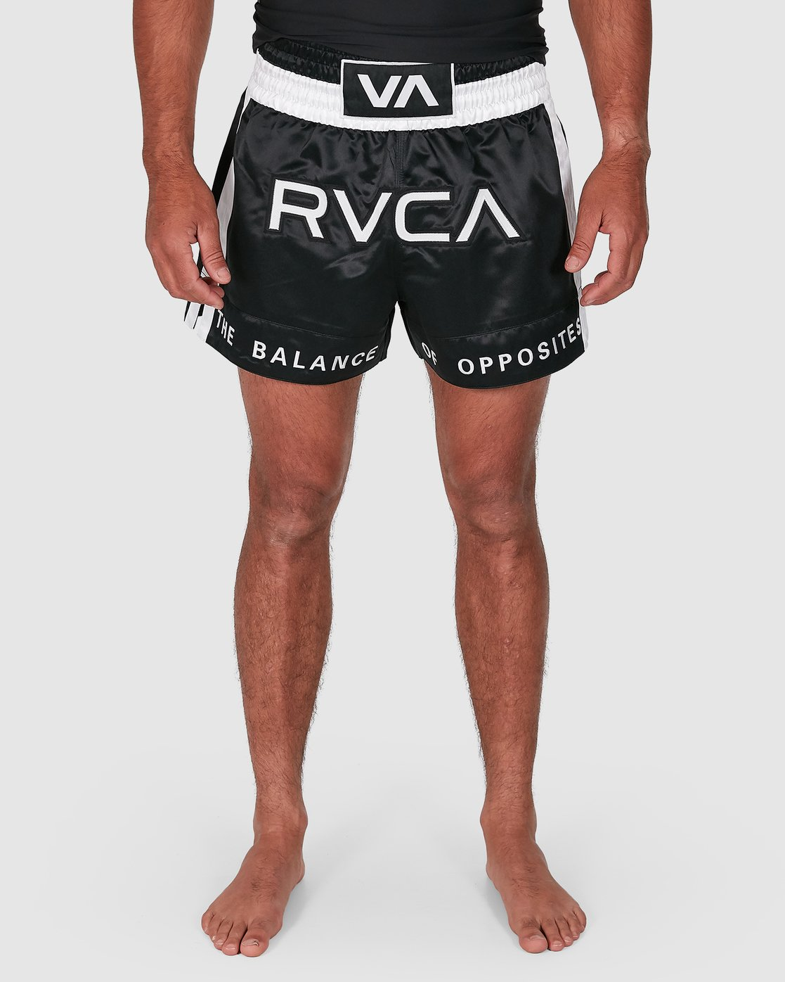 7 RVCA MUAY THAI SHORTS Black R307312 RVCA