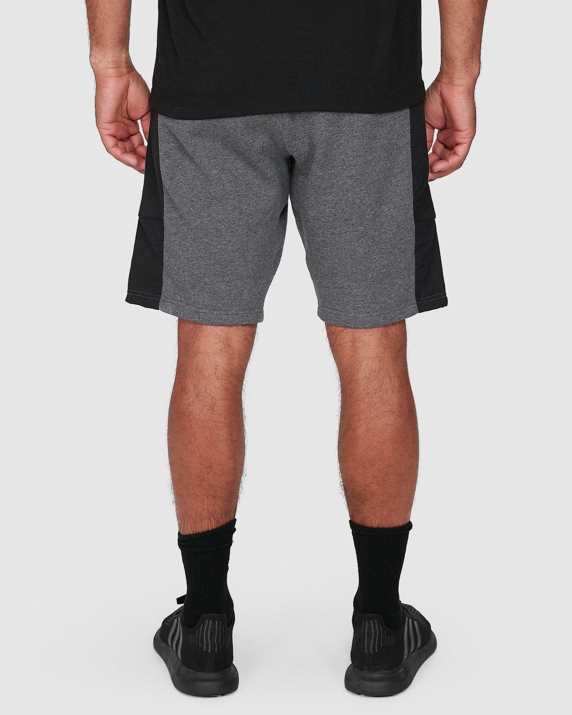 8 Hybrid Shorts Grey R307316 RVCA