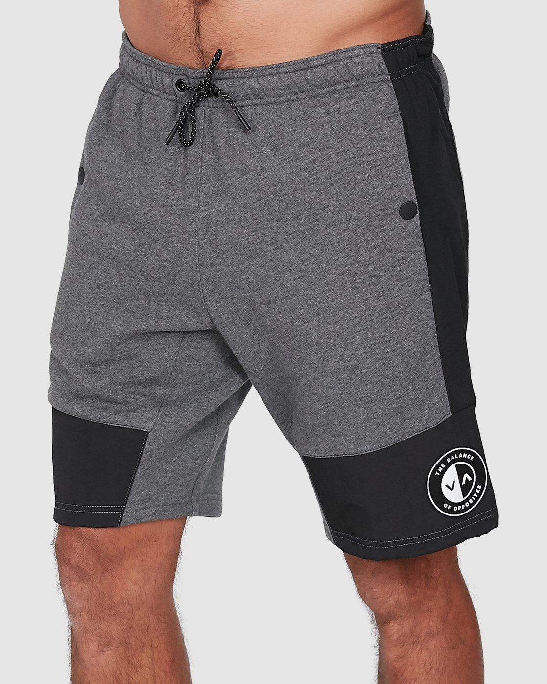 0 Hybrid Shorts Grey R307316 RVCA