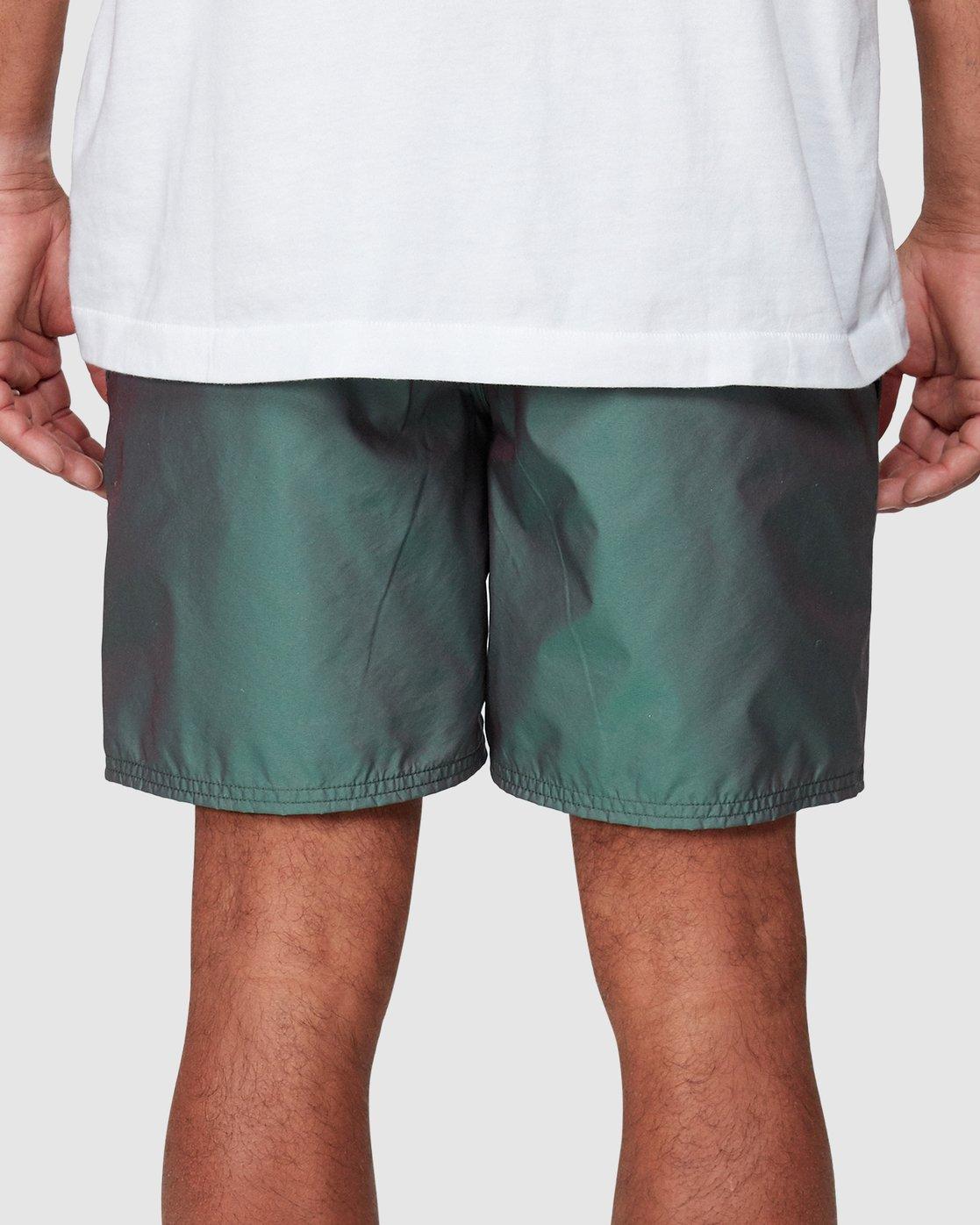 5 Hazed Elastic Shorts  R307400 RVCA