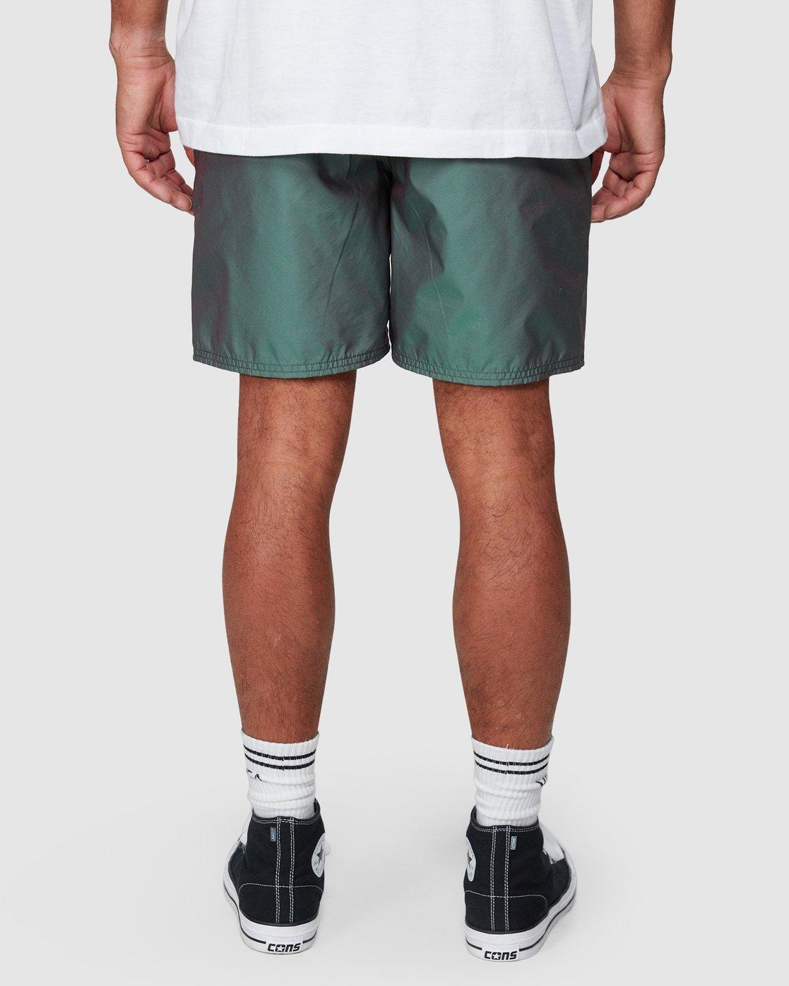 7 Hazed Elastic Shorts  R307400 RVCA