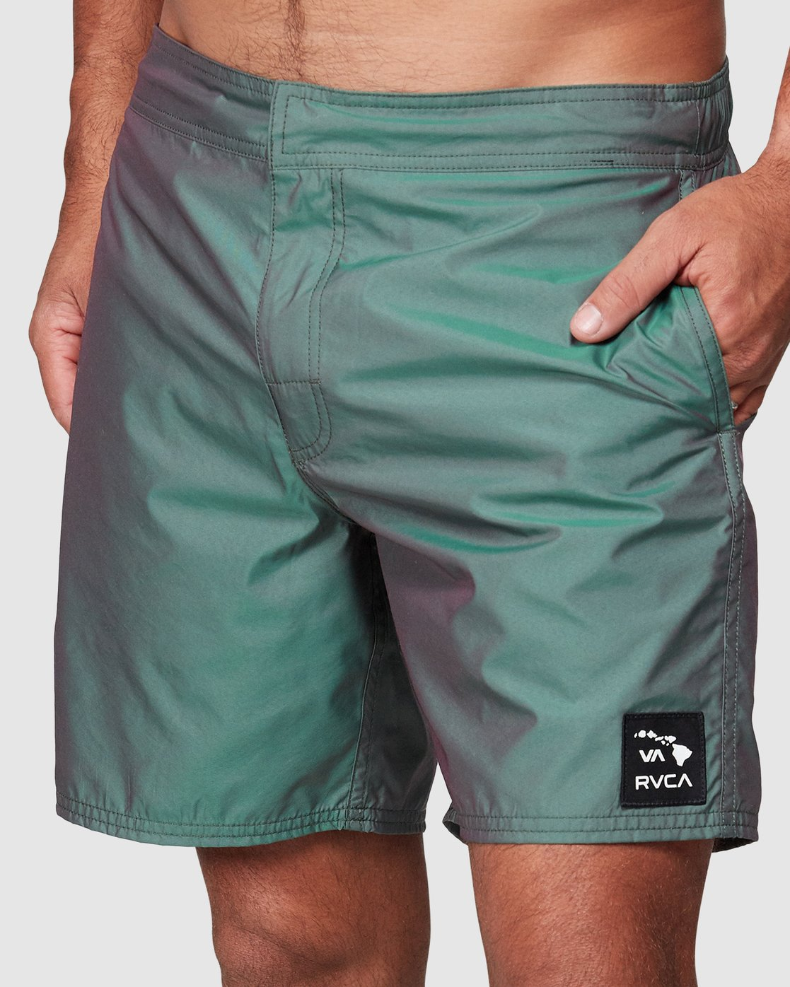 8 Hazed Elastic Shorts  R307400 RVCA