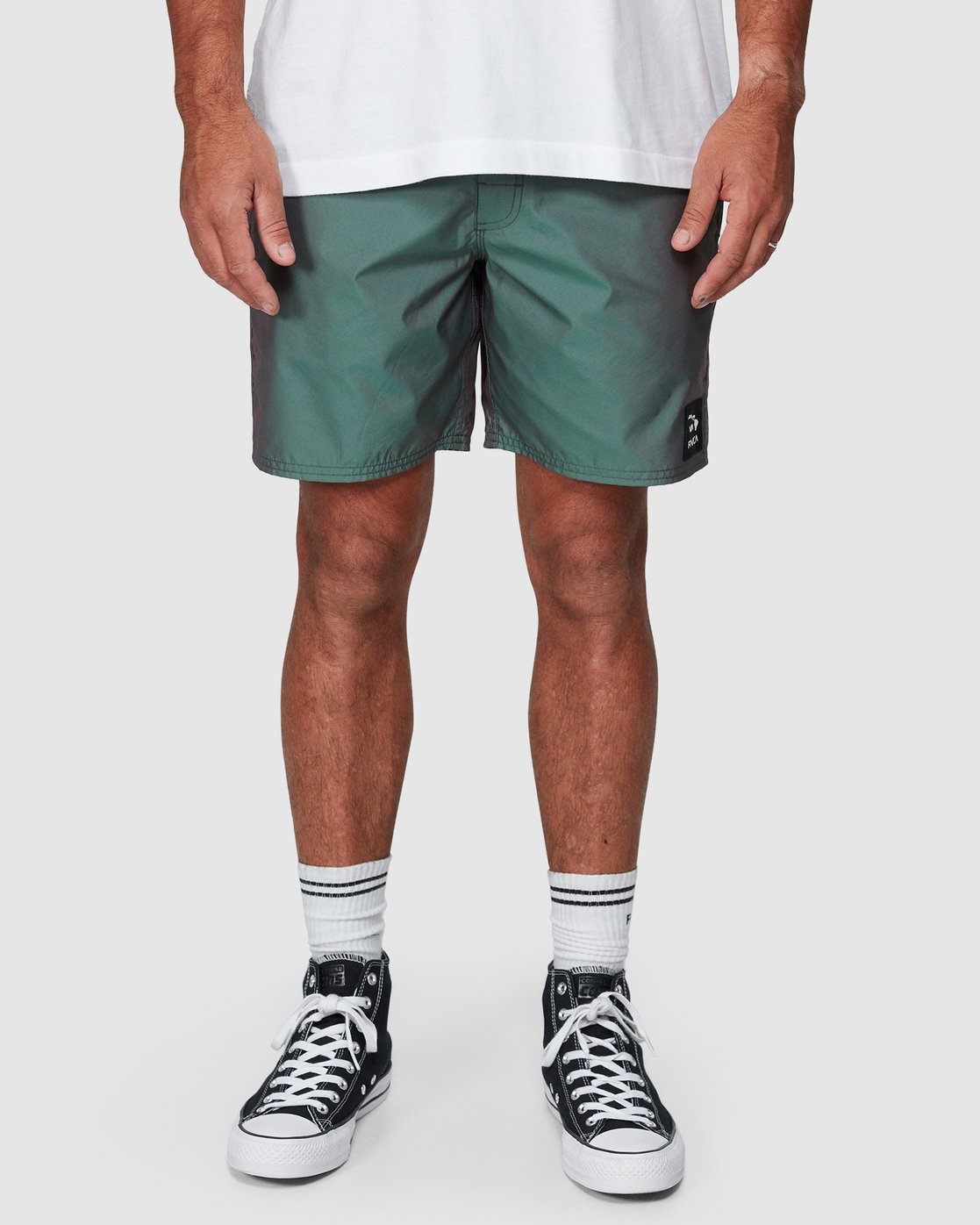 6 Hazed Elastic Shorts  R307400 RVCA