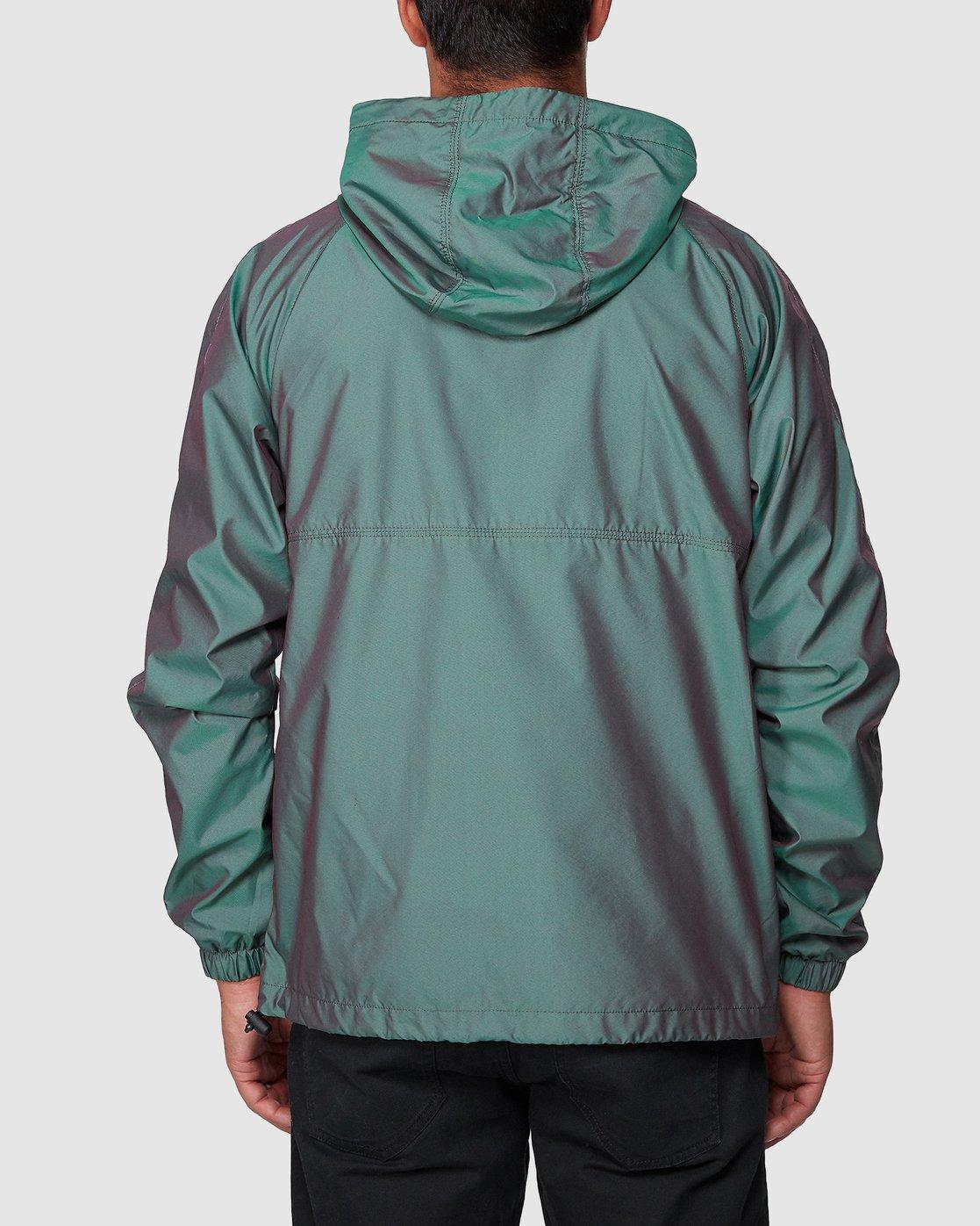3 Hazed Zip Jacket  R307434 RVCA
