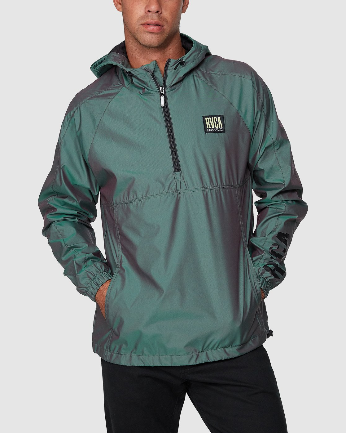 1 Hazed Zip Jacket  R307434 RVCA